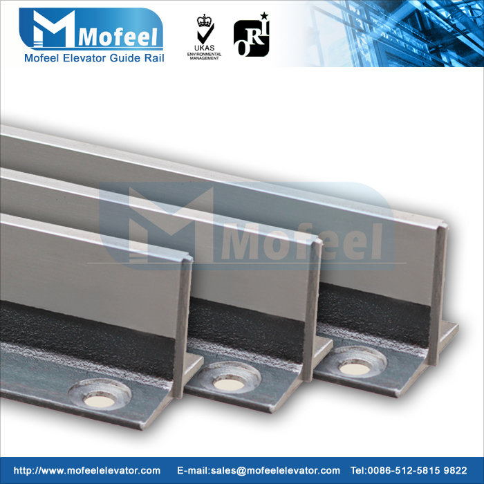 T70-1/B Elevator guide rail/Machined guide rail