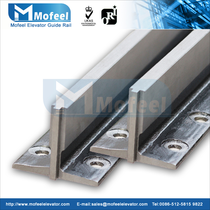 T78/B elevator guide rail/machined guide rail