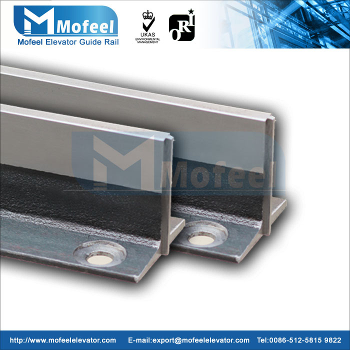 T82/B elevator guide rail/machined guide rail
